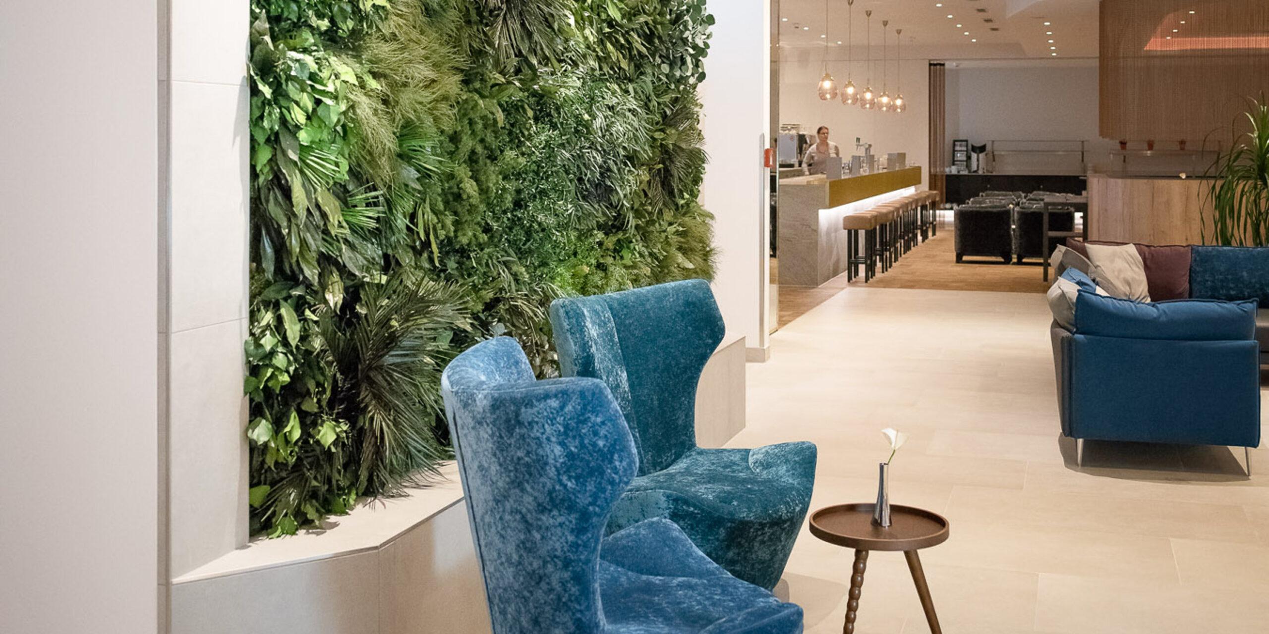 NATURADOR Dschungelwand in Lobby