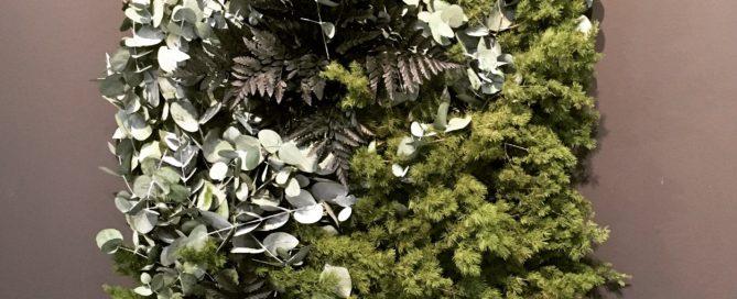 NATURADOR® Pflanzenwand auf der Orgatec 2018 - Sonderfläche Materials Culture