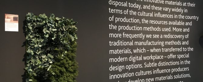 NATURADOR® auf ORGATEC 2018 - Materials Culture