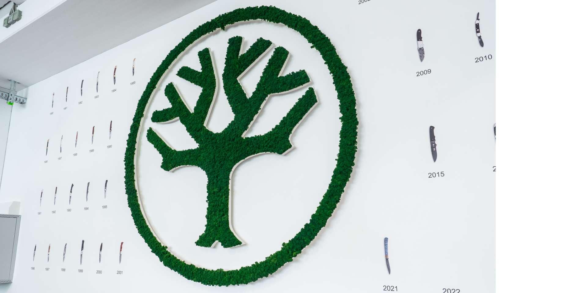 Bökerbaum aus Islandmoos von NATURADOR® für Jahresmesser-Ausstellung
